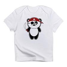 Pirate Panda Infant T-Shirt