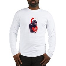 Santa Newf Long Sleeve T-Shirt