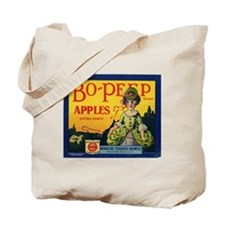 Bo-Peep Apples Tote Bag