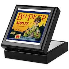 Bo-Peep Apples Keepsake Box