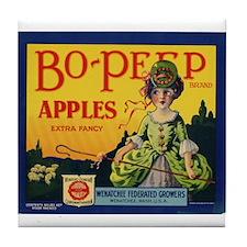 Bo-Peep Apples Tile Coaster