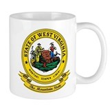 West Virginia Seal Mug