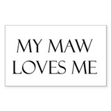 My Maw Decal