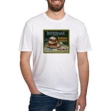 Ritebake Yakima Apples Fitted T-Shirt