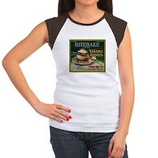 Ritebake Yakima Apples Women's Cap Sleeve T-Shirt