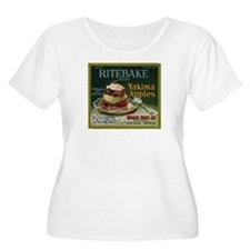 Ritebake Yakima Apples Women's Plus Size Scoop Nec