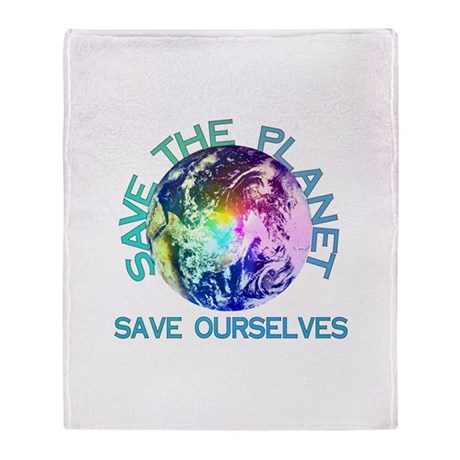 Save The Planet Stadium Blanket