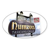 Numzees Tavern and Grille Decal