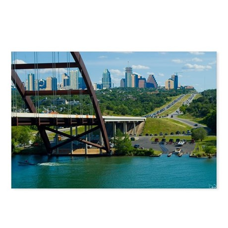 Austin Texas Skyline Bridge Postcards (Package of