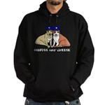 Boofuss and Cheese Hoodie (dark)