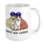 Boofuss and Cheese Large Mug
