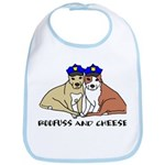 Boofuss and Cheese Bib