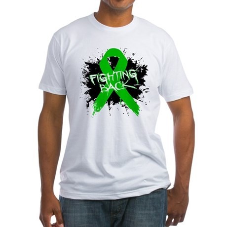 Fighting Back Bile Duct Cance Fitted T-Shirt