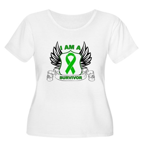 I am a Survivor Bile Duct Can Women's Plus Size Sc
