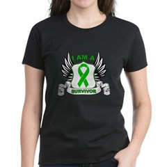 I am a Survivor Bile Duct Can Women's Dark T-Shirt