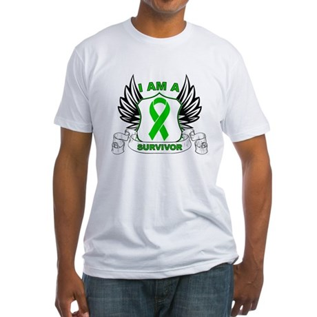 I am a Survivor Bile Duct Can Fitted T-Shirt