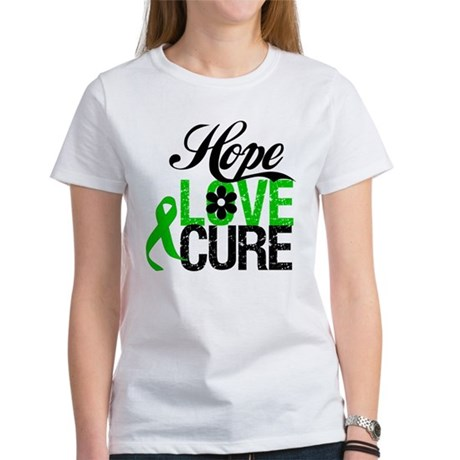 Hope Love Cure Bile Duct Women's T-Shirt