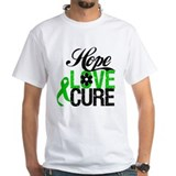 Hope Love Cure Bile Duct Shirt