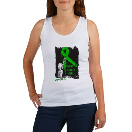 Graffiti FLAG Bile Duct Cance Women's Tank Top