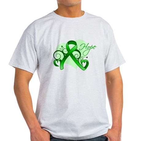 Heart of Hope Bile Duct Cance Light T-Shirt