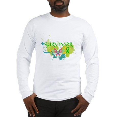 Butterfly Bile Duct Cancer Long Sleeve T-Shirt