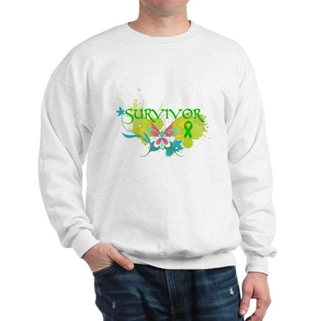 Butterfly Bile Duct Cancer Sweatshirt