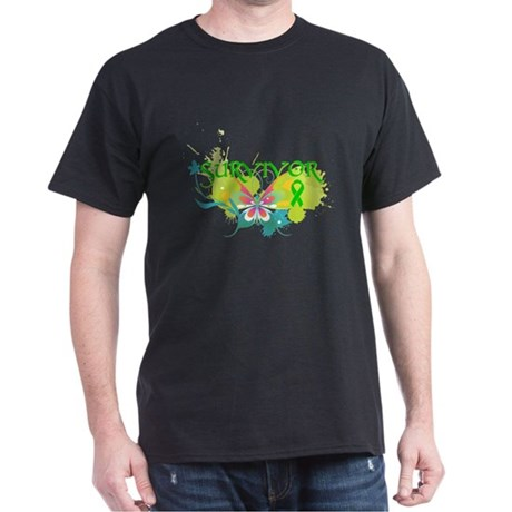 Butterfly Bile Duct Cancer Dark T-Shirt