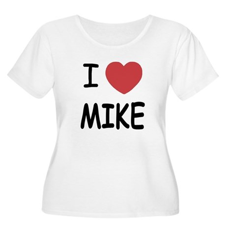I heart Mike Women's Plus Size Scoop Neck T-Shirt