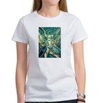 African Antelope Green Women's T-Shirt