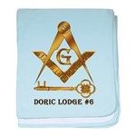 Doric Lodge #6 baby blanket