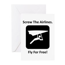 Fly For Free! Greeting Cards (Pk of 10)