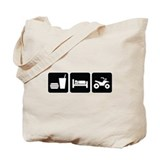 Eat Sleep ATV Tote Bag