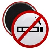 "Anti Smoking 2.25"" Magnet (10 pack)"