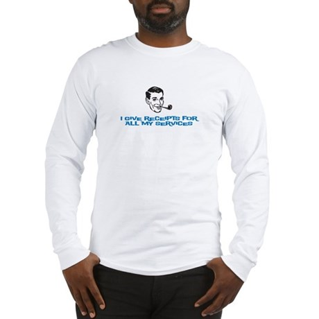 I give receipts (men) Long Sleeve T-Shirt