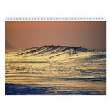 Hawaii Huge Winter Surf Wall Calendar