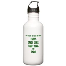 Elf Food Groups Water Bottle