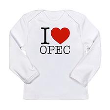 I Love OPEC Long Sleeve Infant T-Shirt