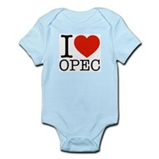 I Love OPEC Infant Bodysuit