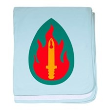 Cute Army div baby blanket