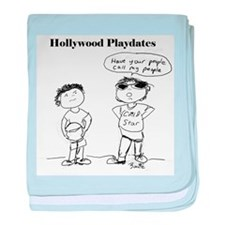 Hollywood Playdates baby blanket