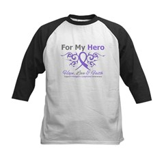 Hero Hodgkin's Disease Kids Baseball Jersey