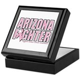 Arizona Breast Cancer Fighter Keepsake Box