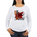 Blood in, Blood out MMA Women's Long Sleeve T-Shir