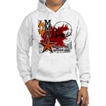 Blood in, Blood out MMA Hooded Sweatshirt