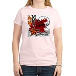 Blood in, Blood out MMA Women's Light T-Shirt