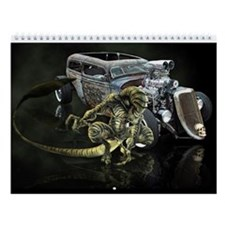 Rat Rod Wall Calendar 2