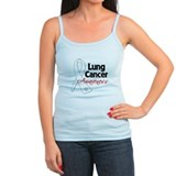 Lung Cancer Awareness Ladies Top