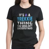 Trekkie Thing Blue Tee