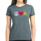 Peace Love Trek Tee