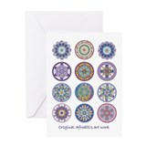 Healing Mandala Greeting Card